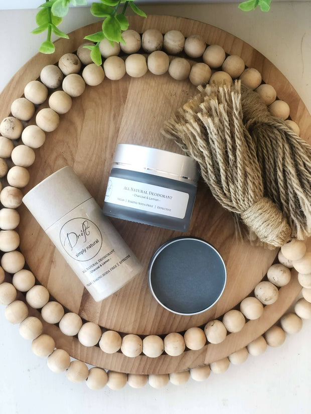 All Natural (Baking Soda Free) Deodorant -  Drift Simply Natural -  marketsquare-collective.myshopify.com