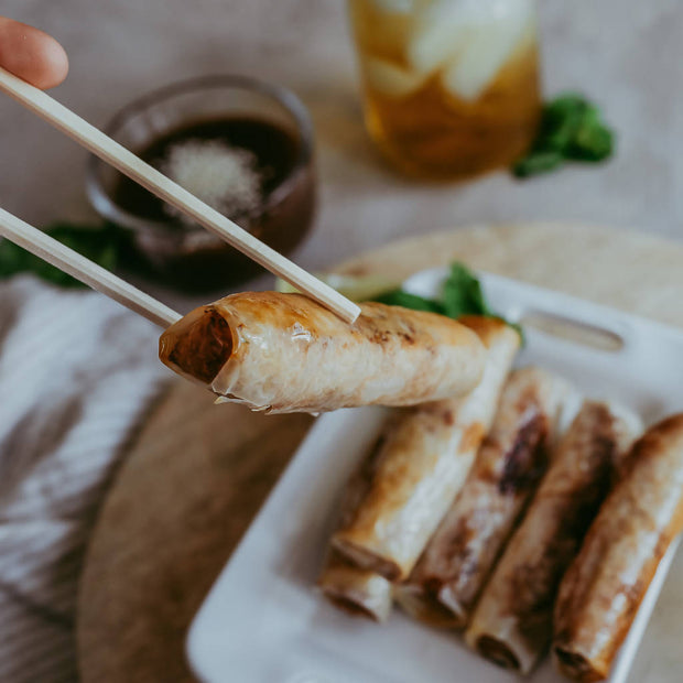 Traditional Pork Spring Rolls -  The Go Tu Vietnamese Kitchen -  marketsquare-collective.myshopify.com