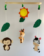 Safari Nursery Mobile -  Leli and Stitch -  marketsquare-collective.myshopify.com