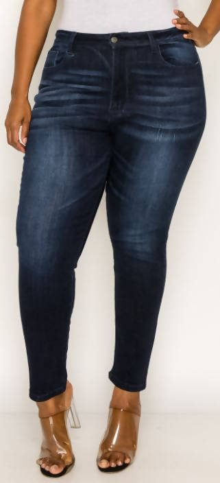 Diva Denim Dark Wash- Curvy