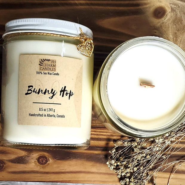 Bunny Hop Natural Soy Candles -  FH Charm Candles -  marketsquare-collective.myshopify.com