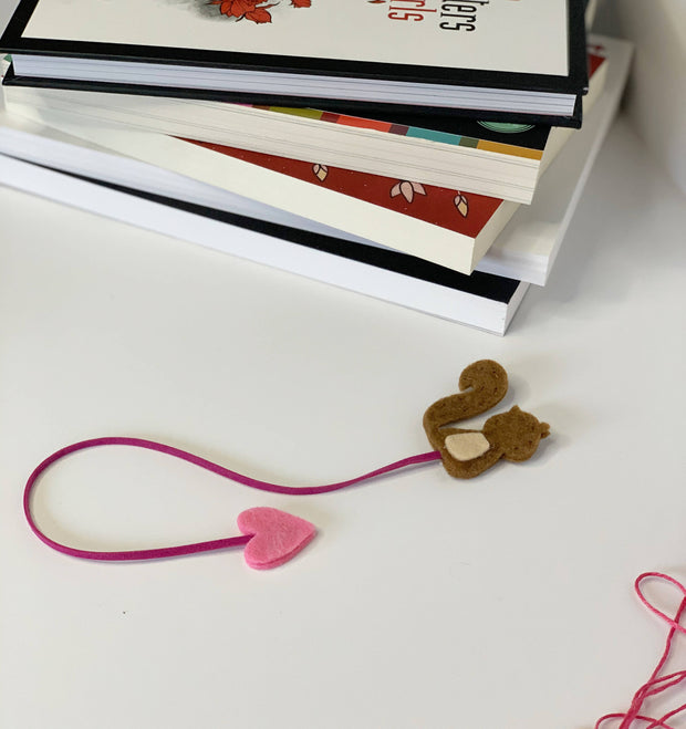 Handmade Bookmark - Squirrel -  Leli and Stitch -  marketsquare-collective.myshopify.com