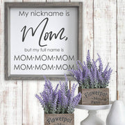 My nickname is MOM -  Lines by Lacey -  marketsquare-collective.myshopify.com