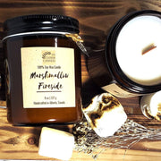 Marshmallow Fireside Natural Soy Candle -  FH Charm Candles -  marketsquare-collective.myshopify.com