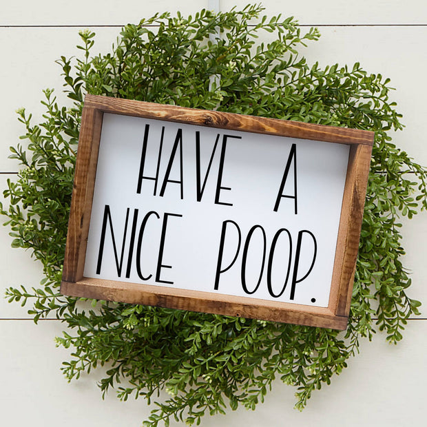 Have a nice Poop -  Lines by Lacey -  marketsquare-collective.myshopify.com