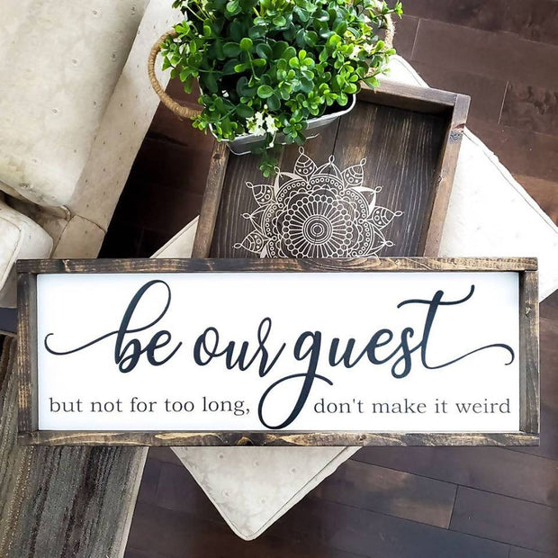Be our Guest -  Lines by Lacey -  marketsquare-collective.myshopify.com