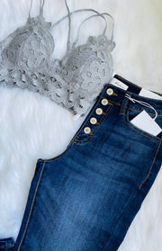 Super Skinny High Waisted Jeans -  Linen and Sage Boutique -  marketsquare-collective.myshopify.com