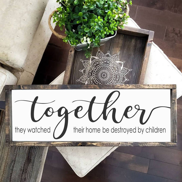 Together they watched their home be destroyed -  Lines by Lacey -  marketsquare-collective.myshopify.com