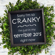 Sorry I'm so Cranky -  Lines by Lacey -  marketsquare-collective.myshopify.com