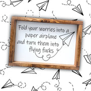 Fold your worries -  Lines by Lacey -  marketsquare-collective.myshopify.com