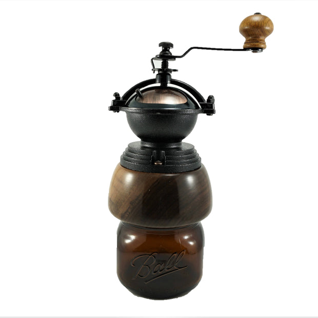 Black Walnut Coffee Grinder -  Tracy Fine Products -  marketsquare-collective.myshopify.com