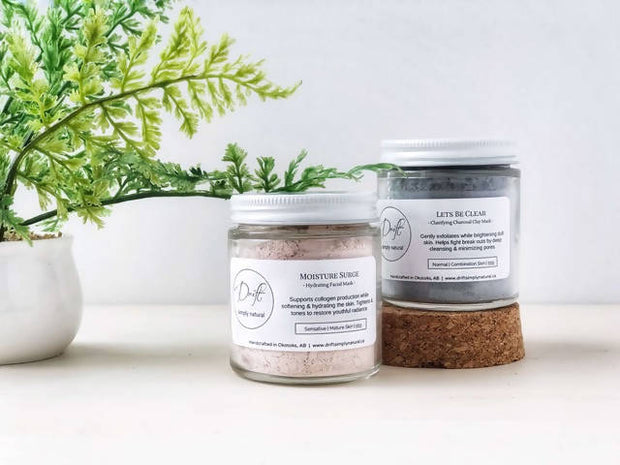 Clay Masks -  Drift Simply Natural -  marketsquare-collective.myshopify.com