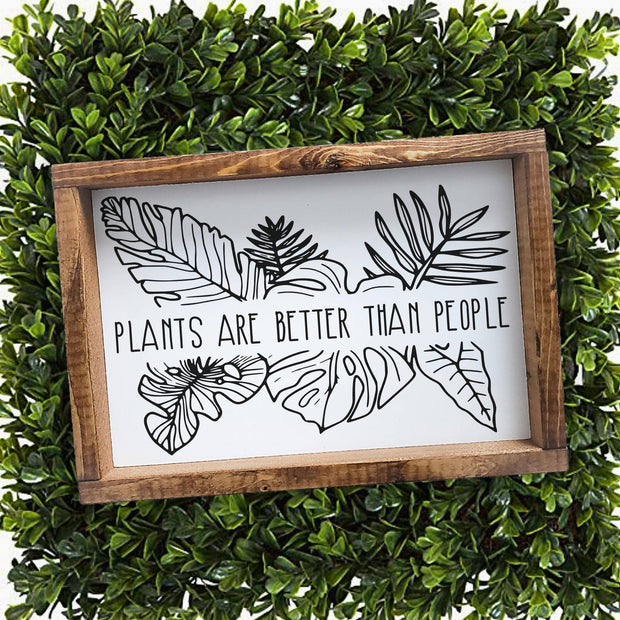 Plants are better than people -  Lines by Lacey -  marketsquare-collective.myshopify.com