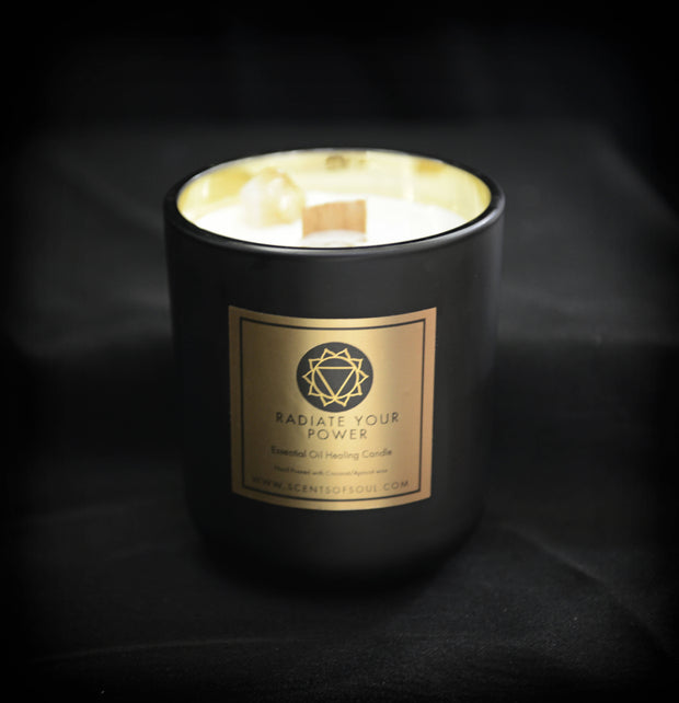 Essential Oil Healing Candle -  Scents of Soul Co -  marketsquare-collective.myshopify.com