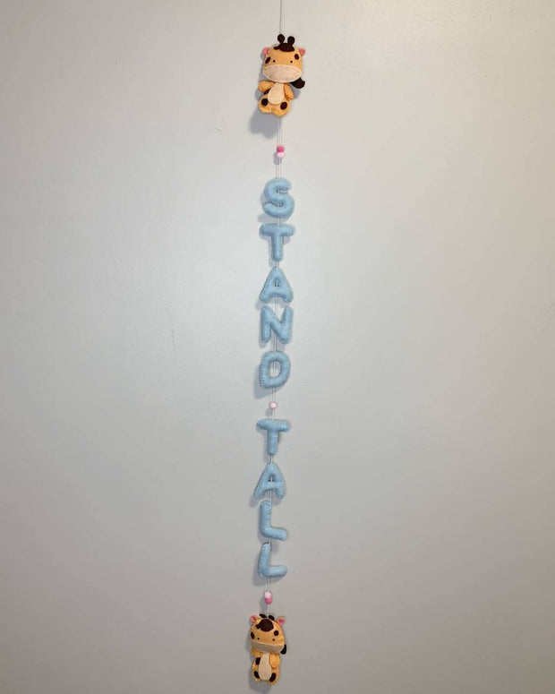 Handmade Personalized Door/Wall Sign -  Leli and Stitch -  marketsquare-collective.myshopify.com