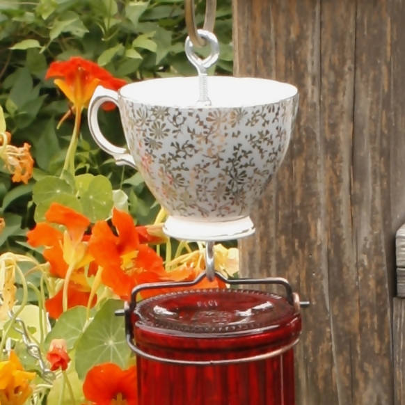 Tea Cup DeterANT -  Wanderings in a Garden -  marketsquare-collective.myshopify.com