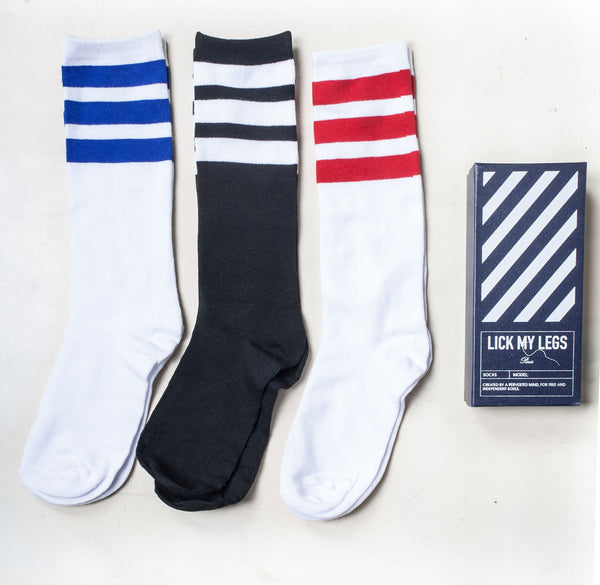 STRIPE SOCKS BOX