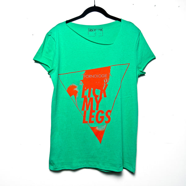 LICK MY LEGS (green) - unisex t-shirt