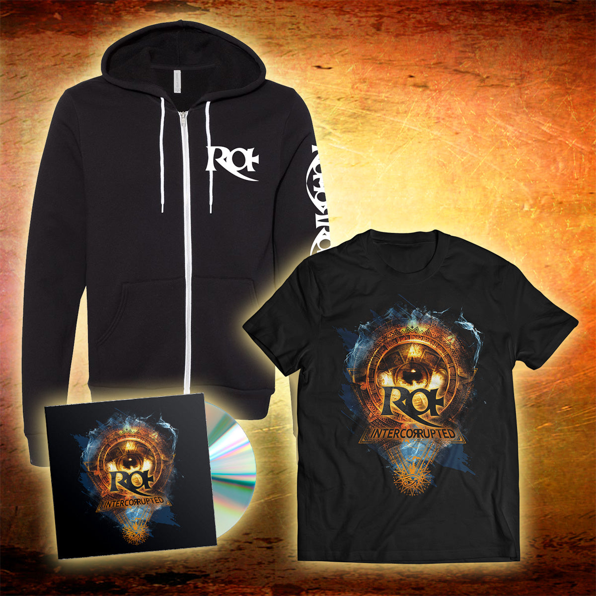 Autographed CD with Limited Hoodie & T-Shirt
