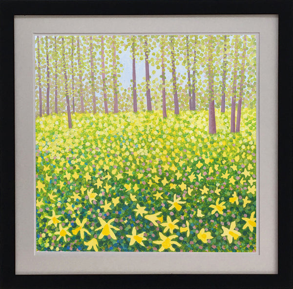 Woodland Daffodils Signed Edition Print