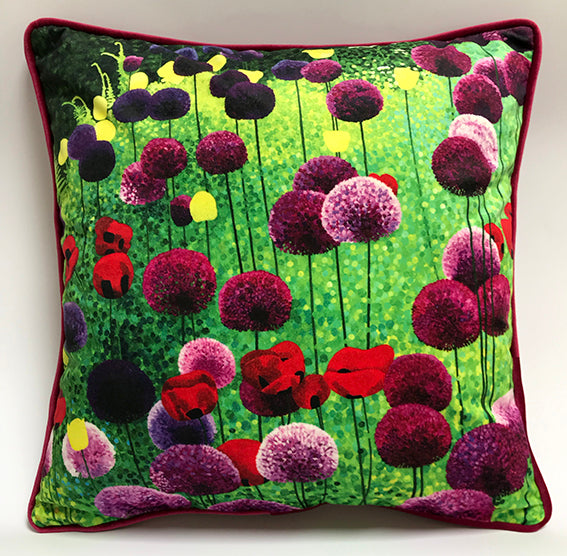 Alliums and Poppies