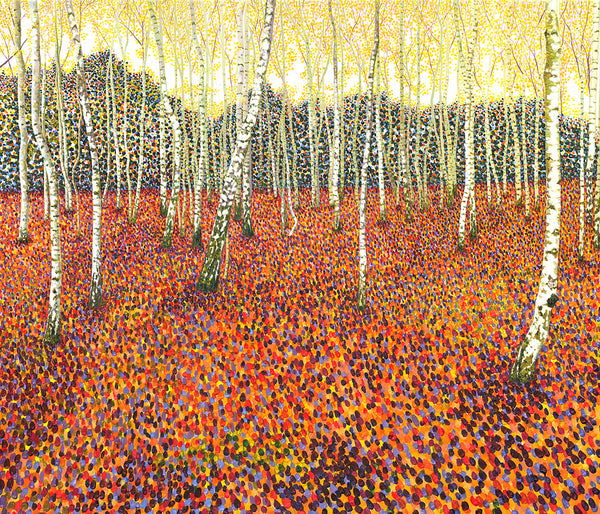 Autumn Birch limited edition print