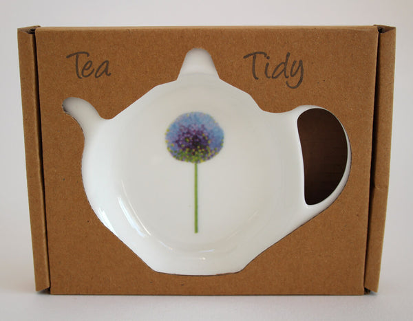 Azure Allium tea tidy