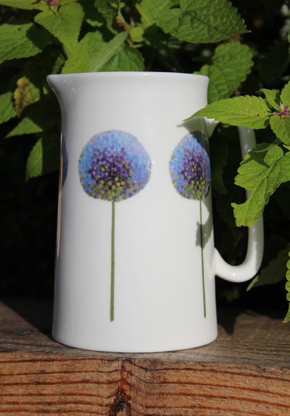 Azure Allium Pint Jug