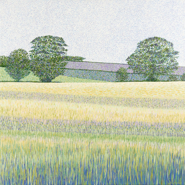 Barley Fields card