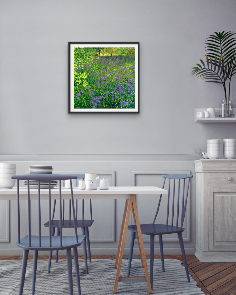 Camassia Meadow - Signed Edition Print