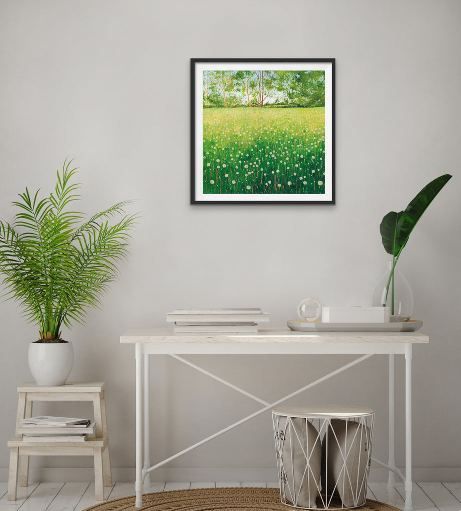 Dandelion Clocks - Signed Edition Print