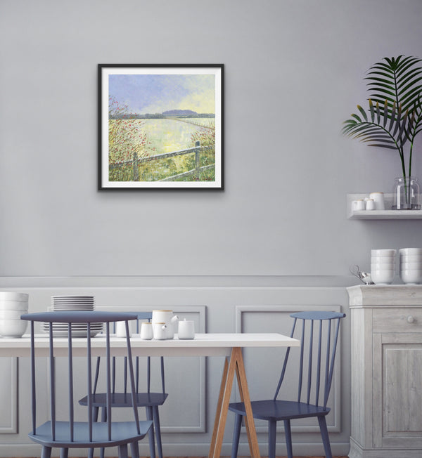 Fields in Frost Signed Edition Print