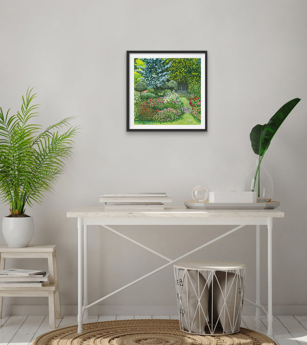 Mums Garden Signed Edition Print