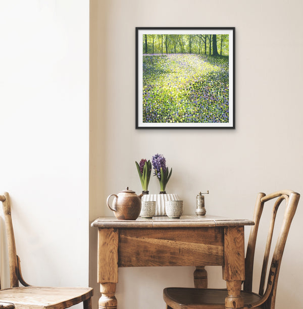 Through the Bluebells Signed Edition Print