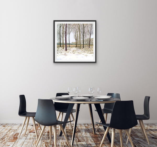 Winter Glade Signed Edition Print