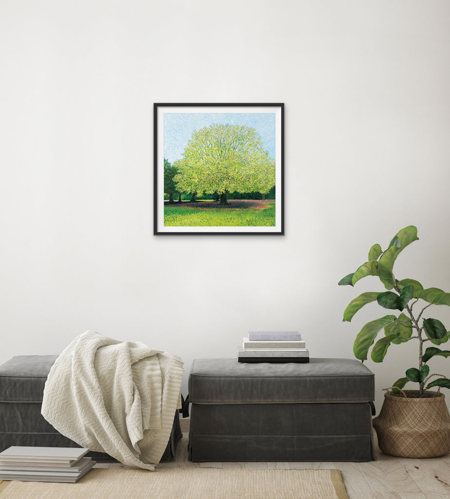 Fern Leaf Beech Signed Edition Print