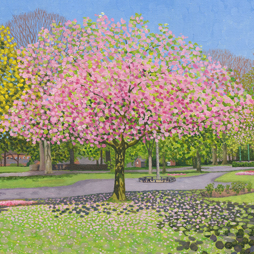 Blossom in the Park card