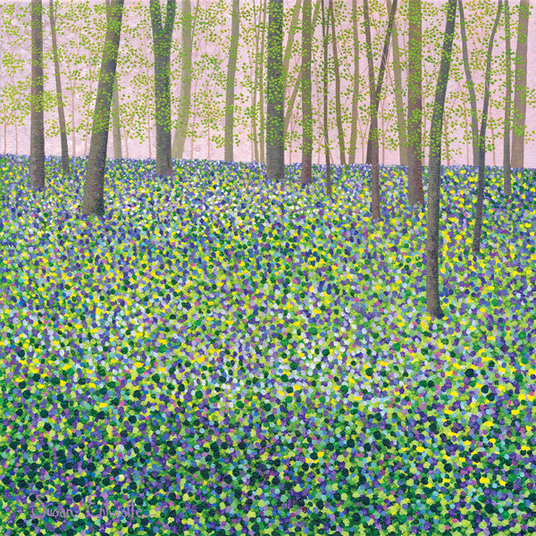 Bluebells & Celandine SOLD