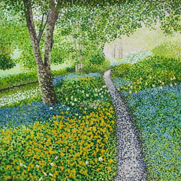 Daffodil Path limited edition print