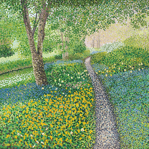 Daffodil Walk limited edition print