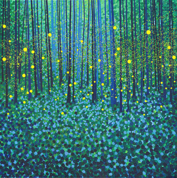 Forest Fireflies SOLD