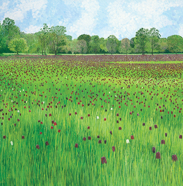 Fritillary Meadow card