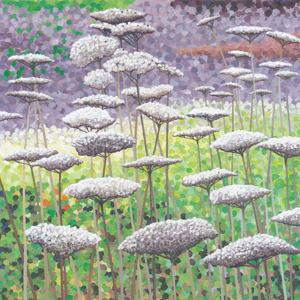 Frost on Seedheads card