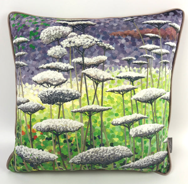 Frost on Seed heads Cushion NEW DESIGN