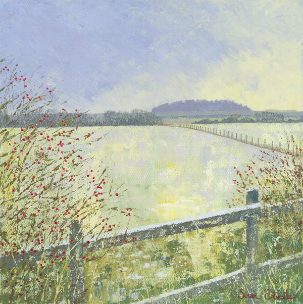 Fields in Frost - SOLD
