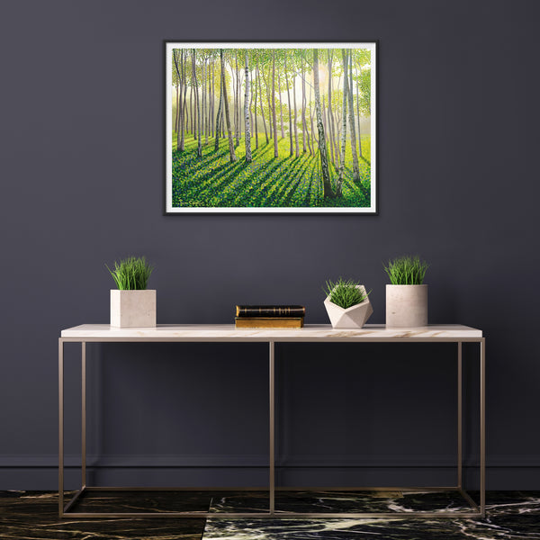 Silver Birch II limited edition print