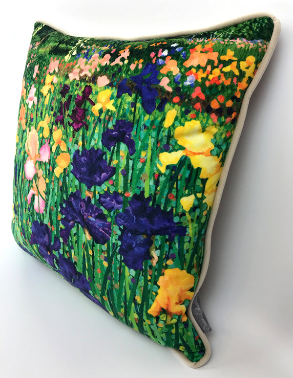 Irises Cushion NEW DESIGN