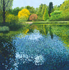 Lake at Wisley limited edition print