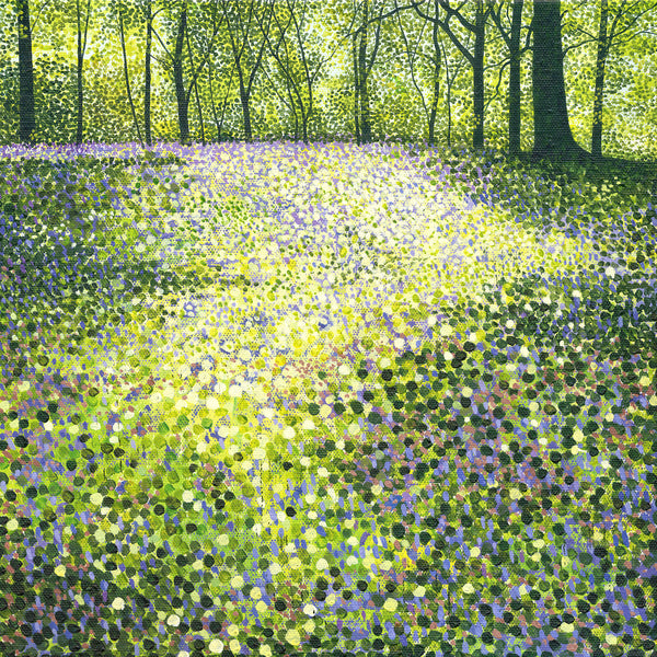 Through The Bluebells Card