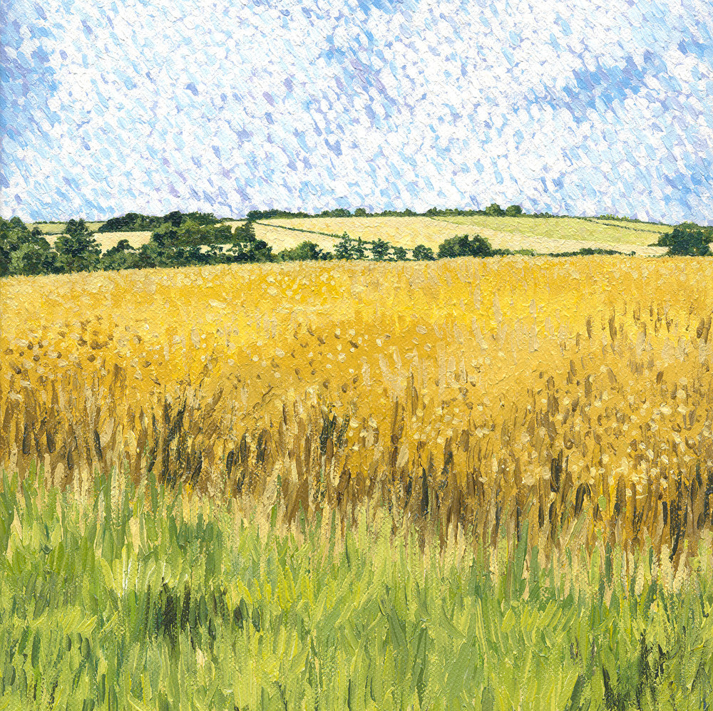 Midsummer Fields card